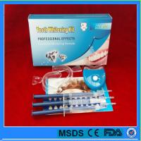 China Professional 35% Carbamide peroxide teeth whitening gel kit for home use with led light on sale