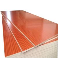 China Compact Struture Melamine Faced MDF Board 730kg/M³ Density With Mixed Core wholesale