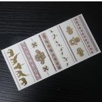 China wholesale gold tattoo sticker jewelry chain ring sticker wholesale