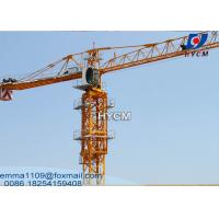 China PT5510 Construction Cranes Tower Topflat Towercrane Specifications 6t wholesale