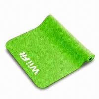 China Yoga Mat for Wii Fit with Anti-slip Surface, Made of High-density Elastic Material wholesale