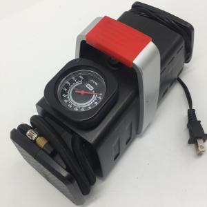Quality AC DC Two Ways Power Get Car Tire Air Compressor with Gauge , Auto Air Compressor for sale