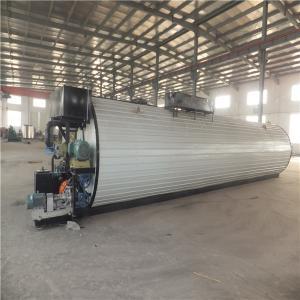 China Horizontal Round Bitumen Machine Asphalt Heating Tank For Bitumen Storage wholesale