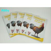 Quality Quad Seal Tear Pet Food Pouch Customization Size For Chicken / Cattle / Sheep for sale