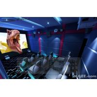 China 9 Seats 5D theater With Genuine Leather Motion Theater Chair wholesale