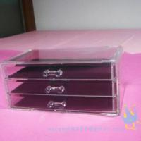 China acrylic cosmetic organizer wholesale