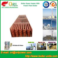 China Floor Standing Radiant Superheater In Power Plant , Superheater Tubes wholesale