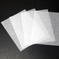 China White color high strength and fire – resistant fiberglass non-woven mat used for carpet tiles wholesale