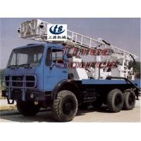 China Truck drilling rig in desert oil prospecting on sale