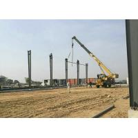 China Prefabricated Large Span Light Steel Structure Warehouse for Oversea Project on sale