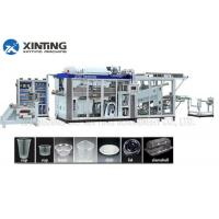 China Automatic HDPE Recycling Machine Plastic Thermoforming Machine for Disposable Cups Containers wholesale