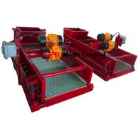 China High quality Well drilling fluids solids control linear motion shale shakers for sale wholesale