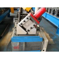 Buy cheap Manual / Hydraulic Ceiling Roll Forming Machine , Steel Frame Roll Forming Machine 4KW from wholesalers