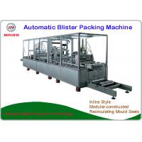China Brush Automatic Blister Packing Machine High Safety Design With Labelling Equipment wholesale