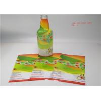 Quality Adhesive Waterproof 3D Shrink Sleeve Labels for sale