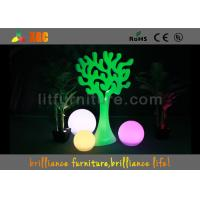 China Birthday party LED Decoration Trees / glow tree for outdoor event decor wholesale