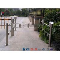 China High Speed Double Core Biometric Swing Barrier Gate Stainless Steel for Fitness Center wholesale