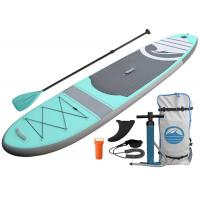 China Multi - Size OEM Inflatable SUP Boards ,  Gray Sup Inflatable  Paddle Surfboard wholesale