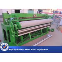 China 5x150 Feet Welded Wire Mesh Machine With PLC Control System 2600x1700x1350mm wholesale