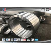 Buy cheap Rough machined 420J2 EF-LF-VD forged cylinder,forged roller shell from wholesalers