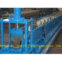 China Rainwater Half Round Seamless Gutter Machine Water Gutter Cold Roll Forming Line wholesale