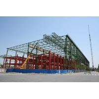Cost Effective Design Industrial Steel Buildings Fabrication With Space Frames
