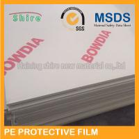 China 2.1M Width PMMA Panel Surface Protection Film Paint Protection Wrap Anti Dust wholesale