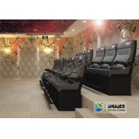Buy cheap Fiber glass 4D Cinema System With Wind , Lightning , Laser , Fog Effect from wholesalers