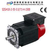 High Frequency 5 5kw Spindle Servo Motor With 3000 Rpm S Acceleration Low Noise Of