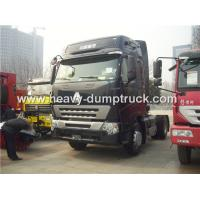 China High Roof Cabin Automatic Tractor Trailer With 371 hp Powerful Engine For Towing Trailers wholesale