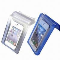 China Water Proof Bags for iPhone/iPad, Made of PVC and TPU Material wholesale