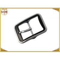 China Various Color Plated Metal Heel Bar Belt Buckle With Pin For Leather Belts wholesale