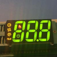 Buy cheap Custom design Multicolour Triple digit 7 segment led display for refrigerator from wholesalers