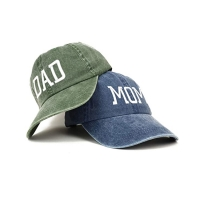 Buy cheap Hot popular new era denim fabric Dad's cap for husband and wife from wholesalers