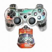 China Wired Gamepad with Light, Suitable for PS3 wholesale