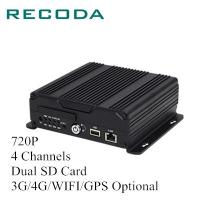 Buy cheap 720P 4Ch Dual SD Card 4G/WIFI/GPS Mobile Vehicle DVR from wholesalers
