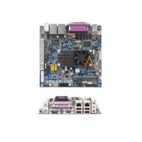 China 6 COM MINI-ITX Motherboard , Intel Atom™ Dual-core Processor D525 Industrial Mainboard wholesale