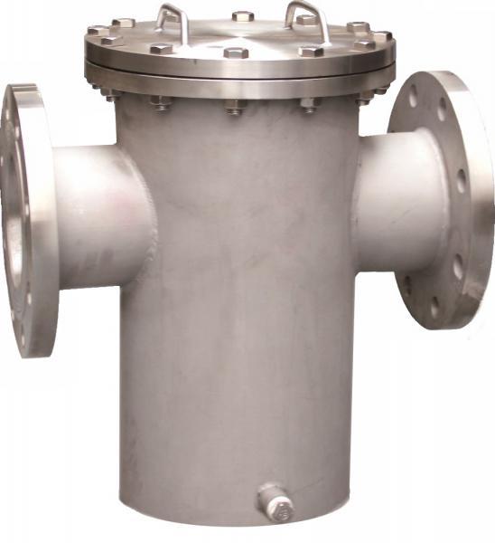Steel water meter strainer ansi rf flanged basket
