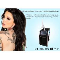 China Salon / Clinic Picosecond Laser Tattoo Removal Machine For Acne Scar Treatment on sale