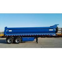 China Frameless Dump Truck Trailer Commercial Bumper Pull Dual Axle Dump Truck on sale