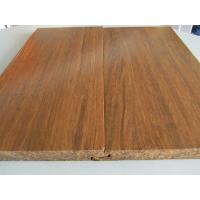 China Click lock Carbonized Strand Woven Bamboo Flooring wholesale