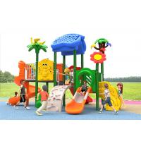 China Reliable Kids Outdoor Plastic Slide , Kids Plastic Playset For 4-16 Years on sale