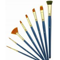 Quality Customized Logo 4 Inch Artist Painting Brushes Liner Brushes For Oil Painting for sale