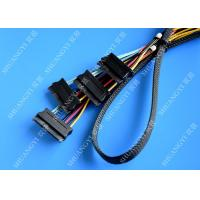 Quality Serial Attached SCSI SAS SFF 8087 TO SFF 8482 Cable 28AWG Multi – Port Length 65cm for sale