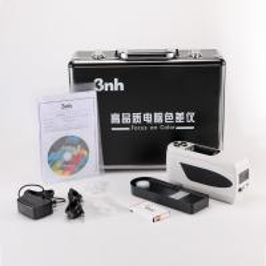 China 4mm 8mm Precision Portable Colorimeter Color Reader NH310 For PET Plastic on sale