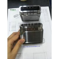 China Precision 1.2343 Steel Injection Mold Cavity Inserts with Cavity no Text Mark wholesale