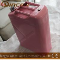 China Pink Costomized Color Metal Petrol Jerry Cans 5L/ 10L / 20L Capacity wholesale