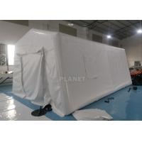 China 6m Portable Red Cross Inflatable Medical Emergency Tent For Outdoor wholesale
