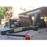 China Giant Inflatable Obstacle Course 0.55 Mm PVC Tarpaulin For Entertainment wholesale