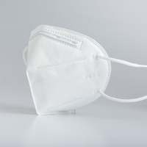 China 4 Ply Flat Non Irritating Gauze Cotton KN95 Folding Dust Masks wholesale